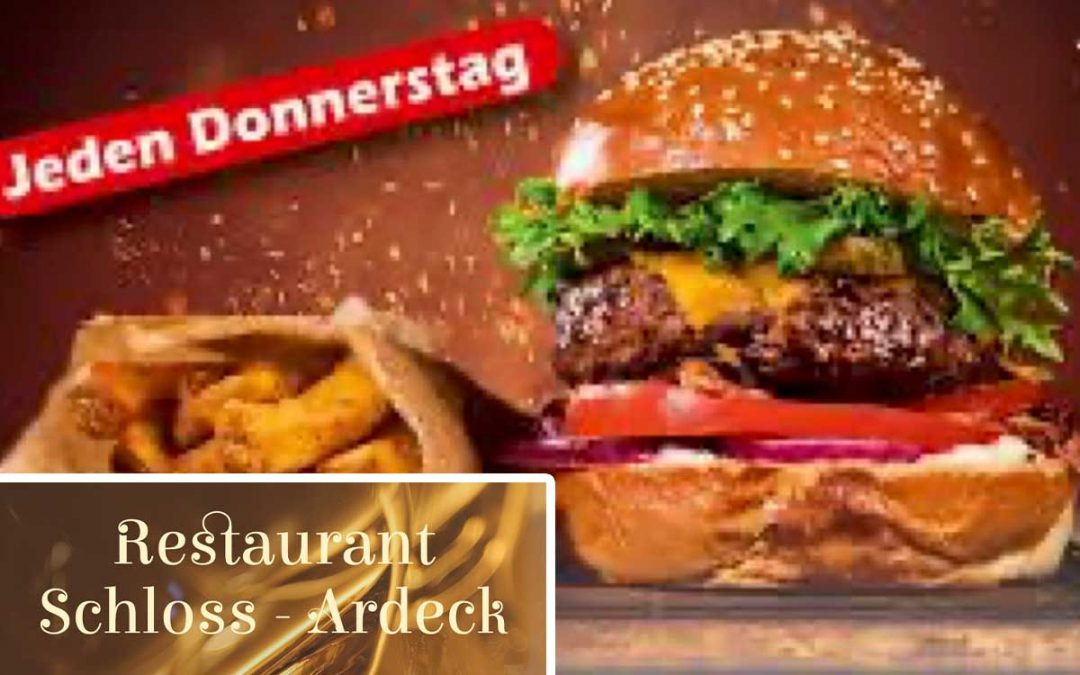 Donnerstag, Burger-Tag