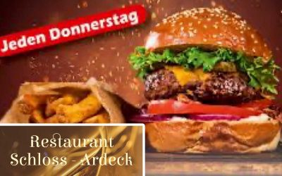 Donnerstag, 22.07. Burger-Tag